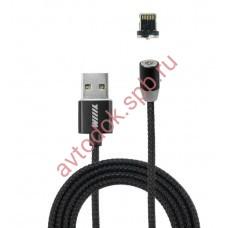 Кабель-переходник USB-Lightning (CBM980-U8-10PG) магнитный черный 1,0м