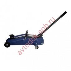 Домкрат подкатной 3т с боковой педалью 135-495мм Premium БЕЛАК