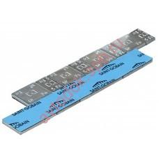 Грузы самоклеющиеся стальные оцинкованные DR 5g х4 + 10g х4 (50 шт/уп)