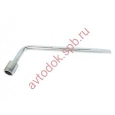 Ключ баллонный 21 с лопаткой 270х80 (350мм) ANDYCAR