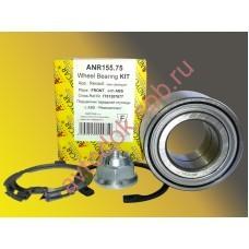 Подшипник ступицы передний LOGAN Renault / LARGUS 1.4-1.6 с ABS с 2010г ANR155.75 ANDYCAR