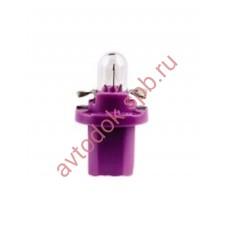 Лампа Патрон NARVA BAX 0,4W (BX8,5d) 12V violet