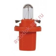 Лампа Патрон NARVA BAX1,0W (BX8,5d) 12V orange