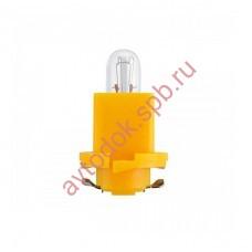 Лампа Патрон NARVA BAX1,2W (B8.0-12 EBSR) 24V (желтый)