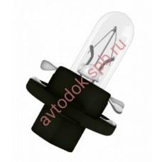 Лампа Патрон NARVA BAX1,2W (BХ8.4d) 12V (черный)