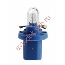 Лампа Патрон NARVA BAX1,2W (B8.5d) 12V (синий)