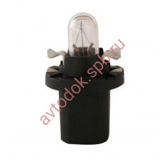 Лампа Патрон NARVA BAX1,2W (B8.5d) 12V (черный)
