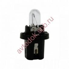 Лампа Патрон NARVA BAX1,2W (B8.3d) 12V (черный)