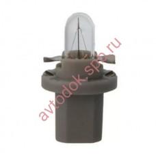 Лампа Патрон NARVA BAX1,2W (B8.3d) 24V (серый)