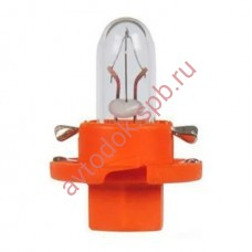 Лампа Патрон NARVA BAX1,1W (BХ8.4d) 12V (оранжевый)