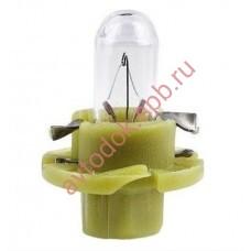 Лампа Патрон NARVA BAX1,3W (BX8,4d) 12V oliver-grey