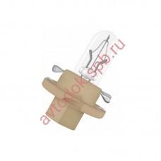 Лампа Патрон NARVA BAX1,5W (BХ8.4d) 12V (бежевый)