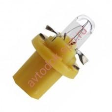 Лампа Патрон NARVA BAX1,5W (BХ8.5d) 12V (желтый)