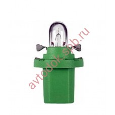 Лампа Патрон NARVA BAX2W (B8.5d) 12V (зеленый)