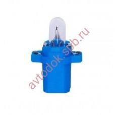 Лампа Патрон NARVA BAX2W (BAX8.3d) 12V (голубой)