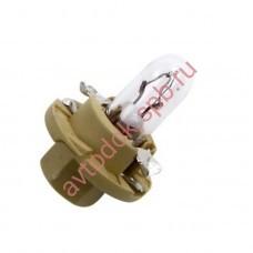 Лампа Патрон NARVA BAX1,8W (BX8,4d) 12V beige