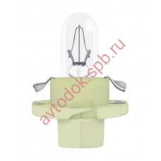 Лампа Патрон OSRAM BAX2W (BX8.4d) 12V (зеленый)