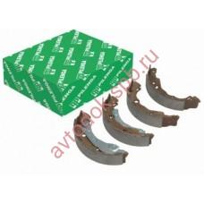 Колодки задние тормозные RENAULT LOGAN (со скобами ручника) PILENGA