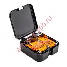 Браслеты противоскольжения (цепь+ремень+пряжка) S-легковые ( 2шт) в сумке