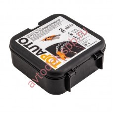 Браслеты противоскольжения (цепь+ремень+пряжка) XL-кроссоверы ( 2шт)в сумке
