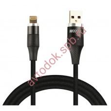 Кабель-переходник USB-micro (CB820-UMU-10B) черный 1м.
