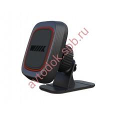 Держатель телефона/смартфона магнитный на торпеду HT-60T11mg с фиксацией кабеля