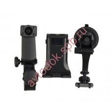 Держатель планшета(КПК,GPS,тел.) на стекло/торпеду/подголовник KDS-01TP