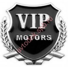 """Наклейка металлическая 3D """"VIP Motors"""""""