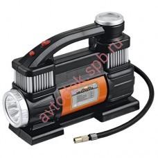 Компрессор  AC-60 АВТОСТОП 150PSI 12V (60л/мин ) с LED фонарем в сумке