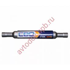 Глушитель дополнительный ремонтный под 55 трубу 690мм  СВД (zakaz)