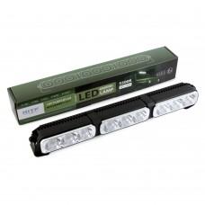 Дополнительные фары MTF светодиодная дальн.свет линейн. тип 3секции, 12-24В, 5500K, 3240лм