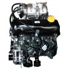 Двигатель в сб. 2123 №0922936 мех. дроссель, рампа без обратки, без насоса ГУРа