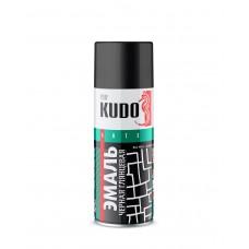 KUDO Эмаль черная глянцевая 520мл
