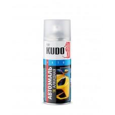 KUDO Эмаль акриловая LADA 601 (черный) 0,4л