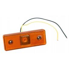 Фонарь габаритный 112221С светодиодный желтый прямоугольный