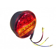Фонарь задний ST1030 (0021) лев. светодиодный (LED) кругл. 3 секции