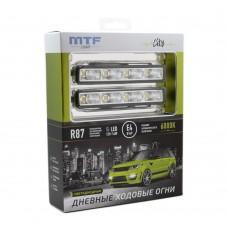 Ходовые огни MTF Light СITY 6000K 12В, 14Вт,E4,ECE87 R87
