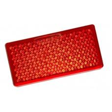 Катафот прямоугольный красный (2-х сторонний скотч)