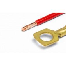 Клеммы (кольцо) d= 8,2мм с проводом 4,00  (уп.-10шт.)
