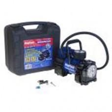 Компрессор MEGAPOWER 150PSI 12V (35л/мин 14А) с фонарем и дефлятором (в кейсе)