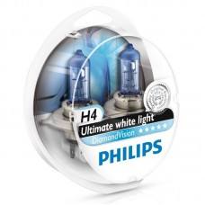 "Лампа ""Phillips""Н4 60/55вт Diamond Vision 5000K (2шт.)"