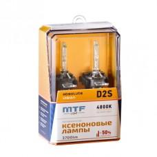 Лампа газоразрядная (ксенон) MTF Light D2S ABSOLUTE VISION+50% 85V, 35W, 4800К