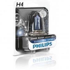 "Лампа мото ""Phillips""Н4 12v 60/55w Blue Vision MOTO 12342XVUBW"