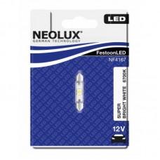 "Светодиодная лампа ""Neolux"" C5W салон 10,5вт Fest 12V LED 0.5W 6700К (блистер 1шт.)_34219"