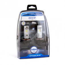 "Светодиодные лампы ""MTF"" HB4 Dynamic Blue Led  (2шт. к-т) 5500К"