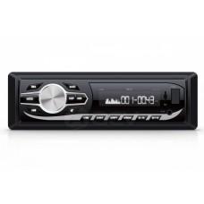 Магнитола AVS-1724W 1din ресивер 24V /белая/USB/SD/FM/AUX/MP3/4*45/фикс. панель