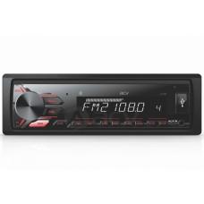 Магнитола AVS-811BR 1din/FM/MP3/USB/2RCA/SD/BT detach panel