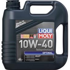 Масло Liqui Moly Optimal 10W-40 SL/CF, A3/B4 4л