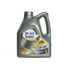 Масло Mobil Super 3000 XE (2dexos) 5W-30 4л