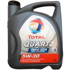 Масло TOTAL Quartz INEO ECS 5W-30 4л.